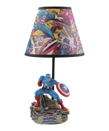 Captain America Lamp
