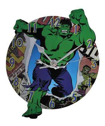 The Incredible Hulk Wall Clock