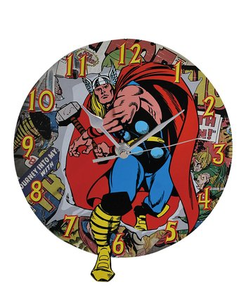The Mighty Thor Wall Clock