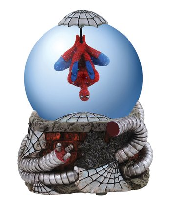 Upside-Down Spider-Man Water Globe