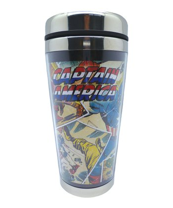Vintage Captain America Travel Mug