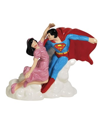 Superman & Lois Lane Salt & Pepper Shakers