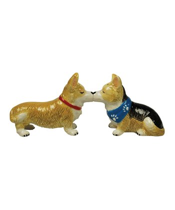 Corgi Salt & Pepper Shakers