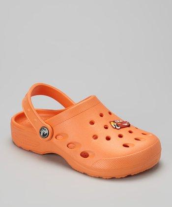 Evacol U.S. Orange Clog & Charm - Kids