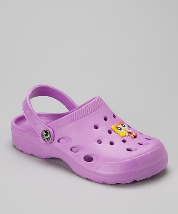 Evacol U.S. Purple Clog & Charm - Kids