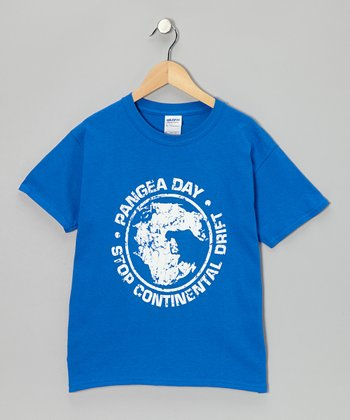 Royal Blue 'Pangea' Tee - Kids