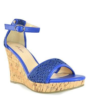 Shoe Republic LA Blue Sephora Wedge Sandal