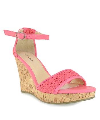 Shoe Republic LA Coral Sephora Wedge Sandal