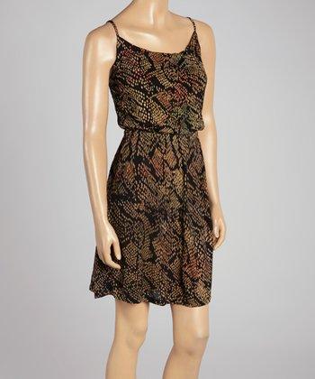 Santiki Black Spot Marina Sleeveless Dress