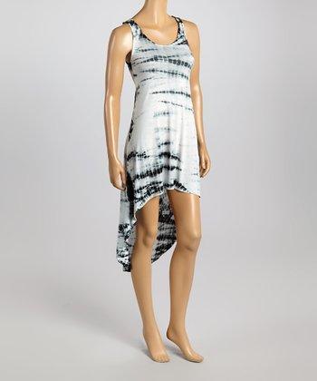 Raviya Black Sublime Hi-Low Dress