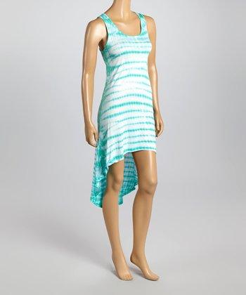 Raviya Seafoam Sublime Hi-Low Dress