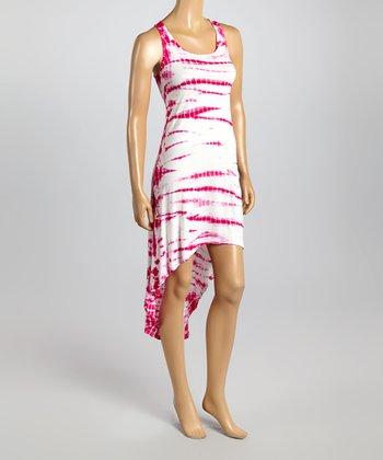 Raviya Pink Sublime Hi-Low Dress