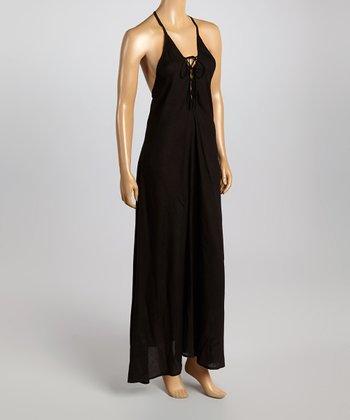 Raviya Black Racerback Dress