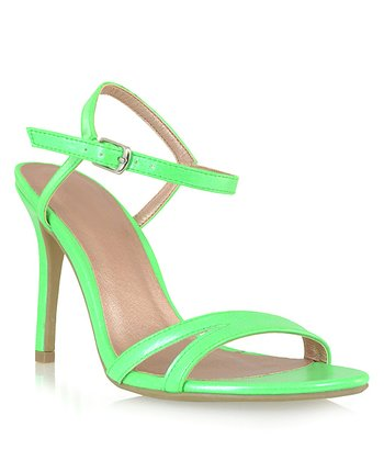 Shoe Republic LA Lime Elmira Sandal