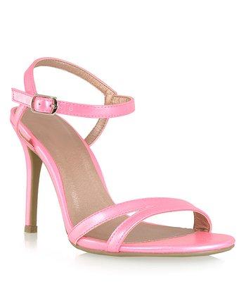 Shoe Republic LA Pink Elmira Sandal