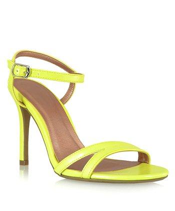 Shoe Republic LA Yellow Elmira Sandal