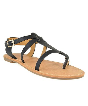 Shoe Republic LA Black Vivo Sandal