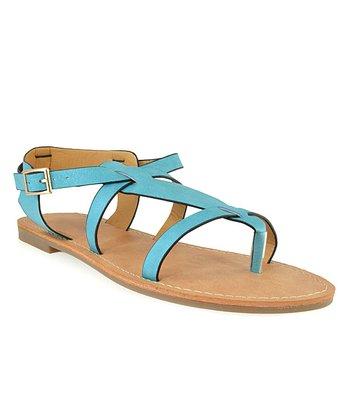 Shoe Republic LA Blue Vivo Sandal