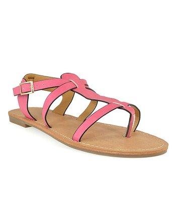 Shoe Republic LA Fuchsia Vivo Sandal