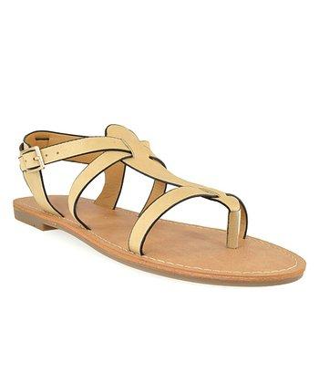 Shoe Republic LA Nude Vivo Sandal