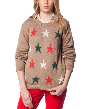 Vizon Star Wool-Blend Sweater