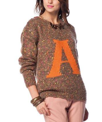 Vizon 'A' Wool-Blend Sweater