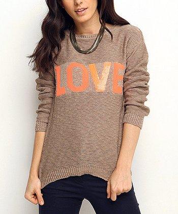 Vizon 'Love' Wool-Blend Sweater