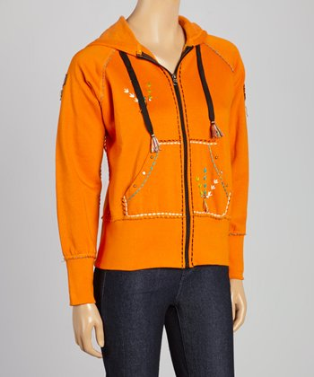 Orange Chief Hoodie - Women