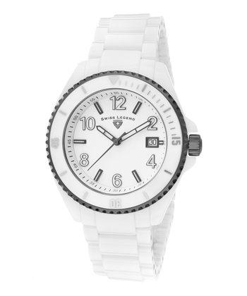 White Luminar High-Tech Ceramic Watch - Men