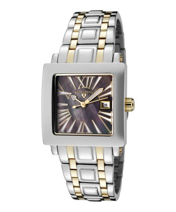 Silver & Gold Colosso Watch - Women