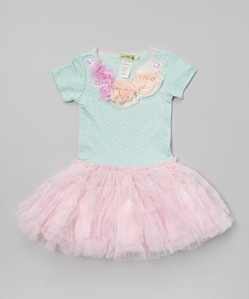 Sage & Pink Iceland Tutu Dress - Toddler & Girls