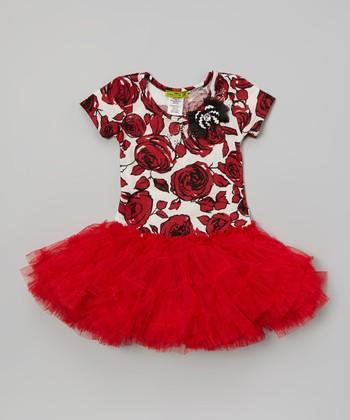 Red Mary Poppins Tutu Dress - Infant & Girls