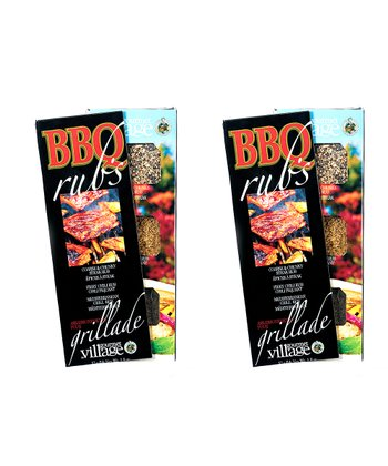 Barbecue Rub Trio – Set of Two