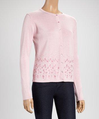 Pink Garden Cardigan