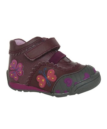 Dark Plum Cynthia Shoe
