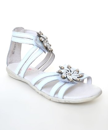 White Mandy Sandal