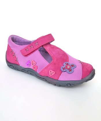 Light Purple Tanya T-Strap Shoe