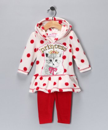 Red Cat Tunic & Leggings - Infant