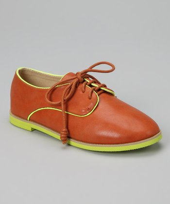 Tan Oxford