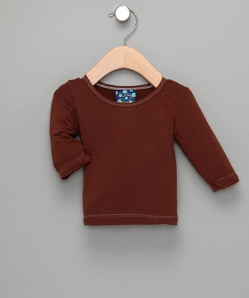 KicKee Pants Fawn Long-Sleeve Tee - Infant