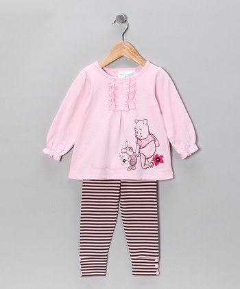 Rosy Petal Pooh Tunic & Leggings - Infant