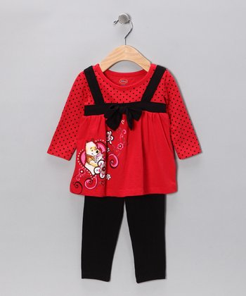 Red Pooh Tunic & Leggings - Infant