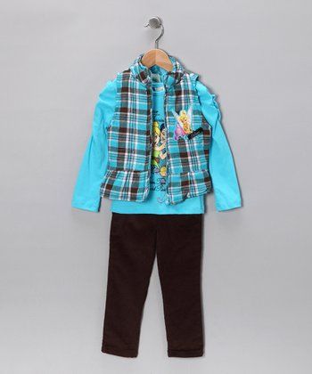 Ocean Wind Tinker Bell Jeans Set - Toddler