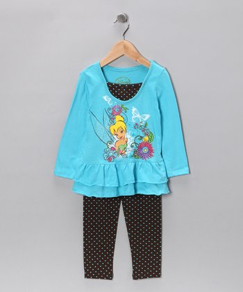 Ocean Wind Tinker Bell Tunic & Leggings - Toddler