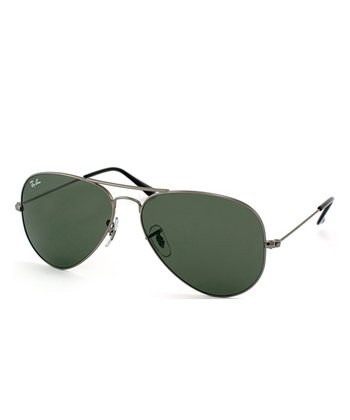 Arista 58-mm Aviator Large Metal Sunglasses