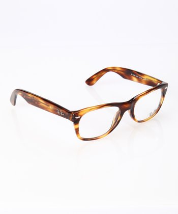 Havana Brown 52-mm New Wayfarer Glasses