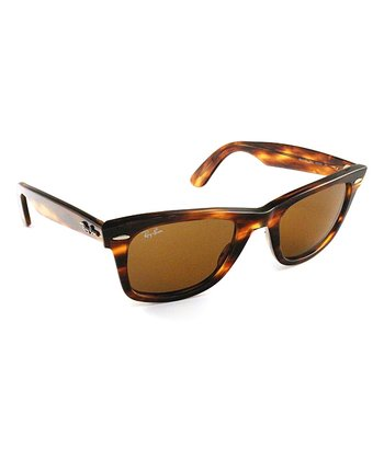 Light Tortoise 50-mm Wayfarer Sunglasses