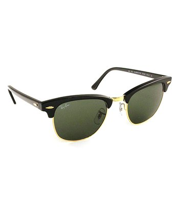 Ebony Arista 49-mm Clubmaster Sunglasses