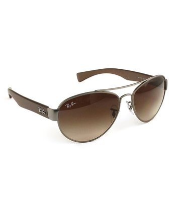 Matte Gunmetal 56-mm Metal Man Sunglasses