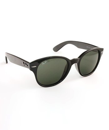 Black Nylon Sunglasses